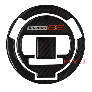 Pegatina de fibra de carbono 3D para tapa de combustible y Gas de motocicleta para BMW R1200GS R1200 GS 2008-2012