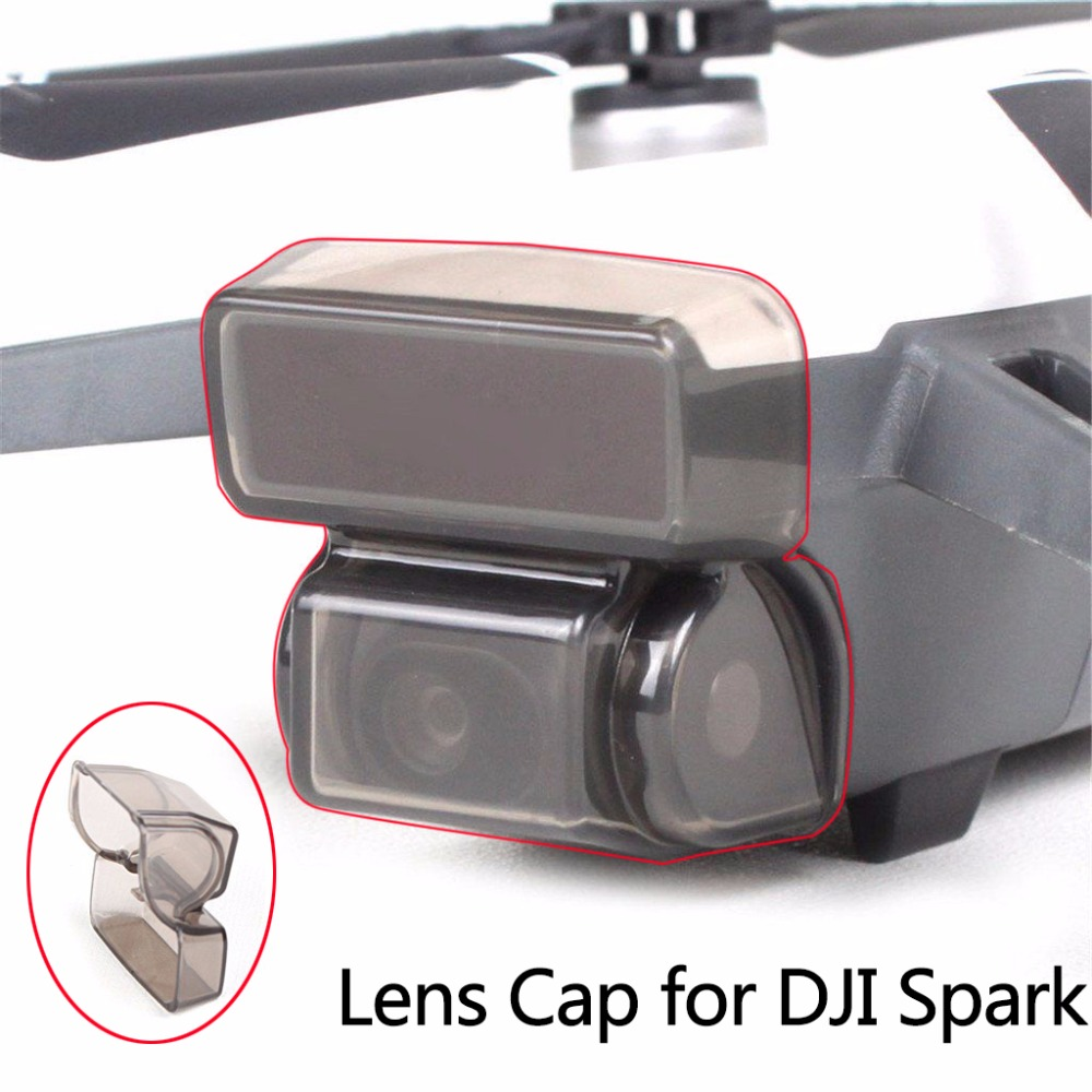 Camera Cover Cap For DJI SPARK Gimbal Protector Front 3D Sensor System Screen Cover Dust-proof Bum-proof Guard Transport Cover