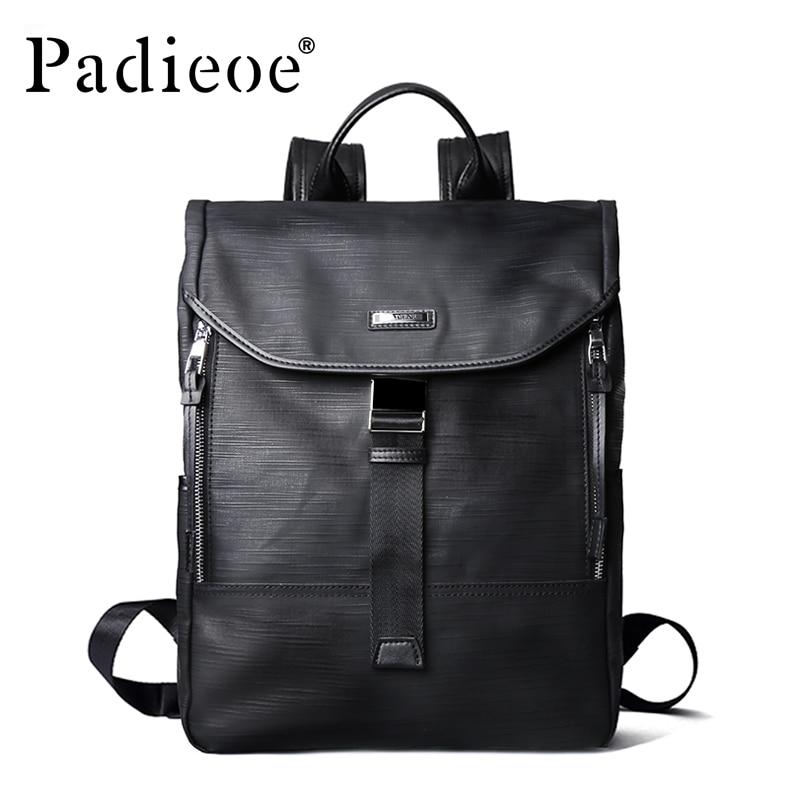 Padieoe New Designer Canvas Men Casual Daypacks Large Waterproof Men's Backpack Famous Brand Rucksack School Bags For Men Women lego lego star wars 75120 к 2so™
