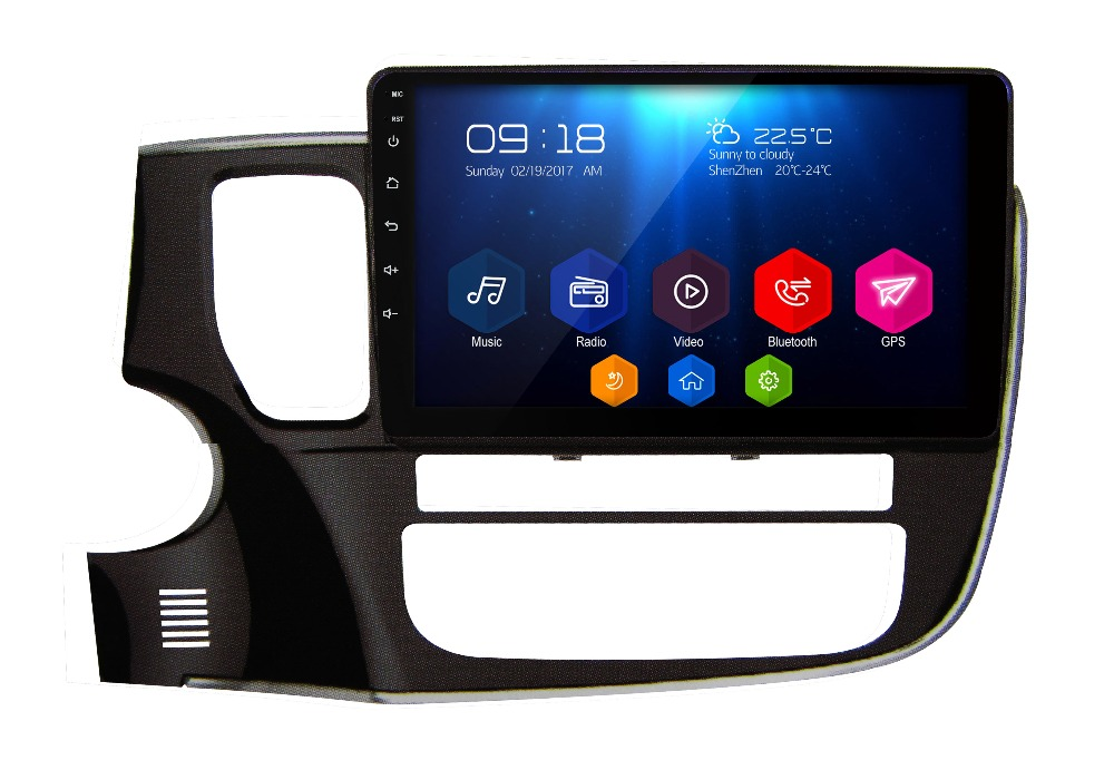 10 1 otojeta android 6 0 1 font b car b font DVD multimedia for Mitsubishi