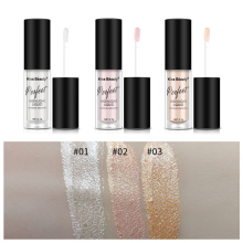 Liquid eye shadow flash eye shadow pen waterproof long-lasting flashing shine metal suitable for party eye cosmetics