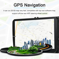 Car Multimedia Player Android 7.1 System GPS Navigation 9 Inch Full HD 1080P Touchscreen Player BT In dash Navigation