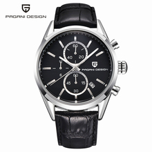 Time-limited Watches Men Diver 30m Casual Quartz Leather Top Brand Luxury Sports Watch Pagani Design Clock Reloj Hombre 2016