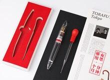מונמן M2 שקוף עט נובע EF ציפורן מתנת 1.1MM ציפורן כתיבה ספר משרד penna stilografica