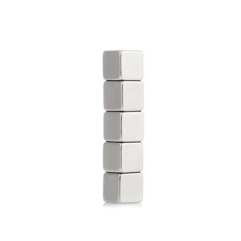 5 шт. 5x5x5 мм N42 мощный куб неодимовый магнит Творческий игрушки для детей взрослых DIY новый
