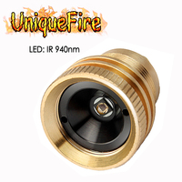 UniqueFire Replacement LED Drop in Pill IR 940nm Emitting Module For 1508 Hunting Infrared Night Vision Flashlight Torch 3 Mode