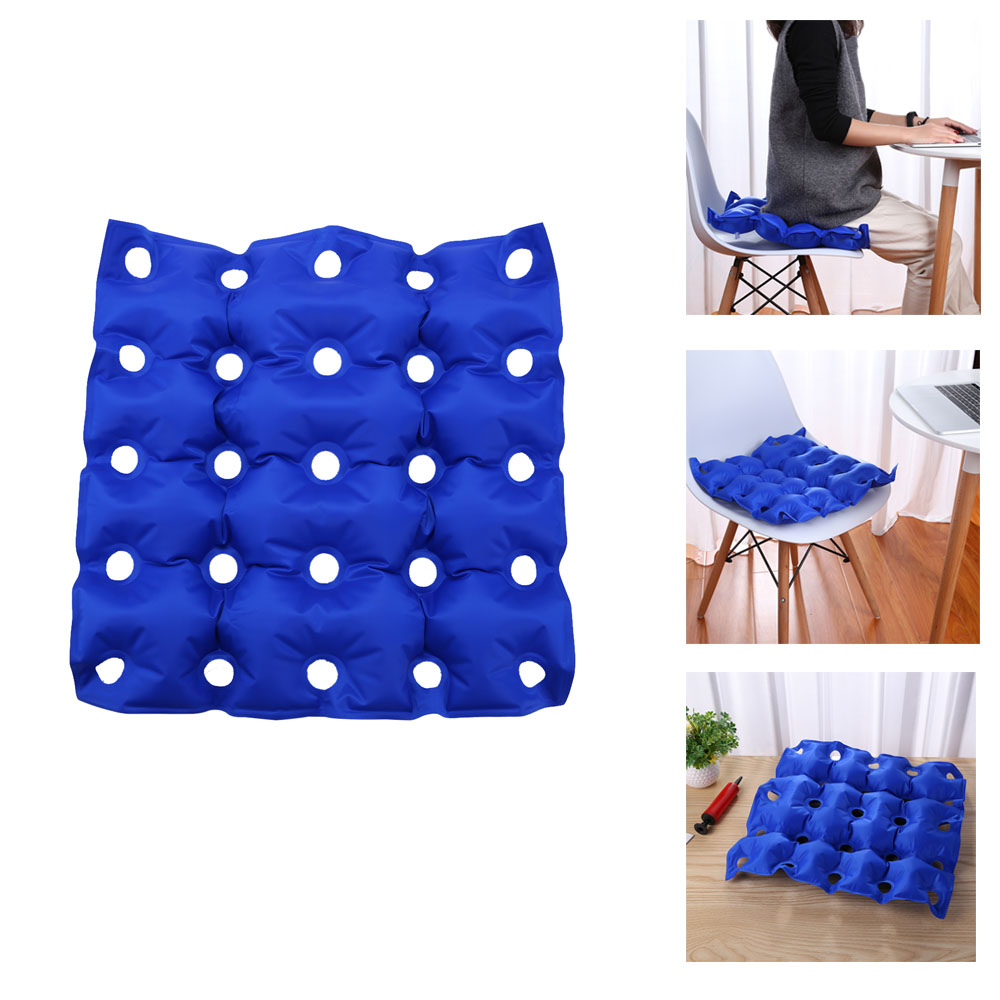 Wheel Chair Cushion Medical Wheelchair Cushion Mat Inflatable Elderly Anti Bedsore Decubitus Chair Cushions Pad Home Office Seat Cushion