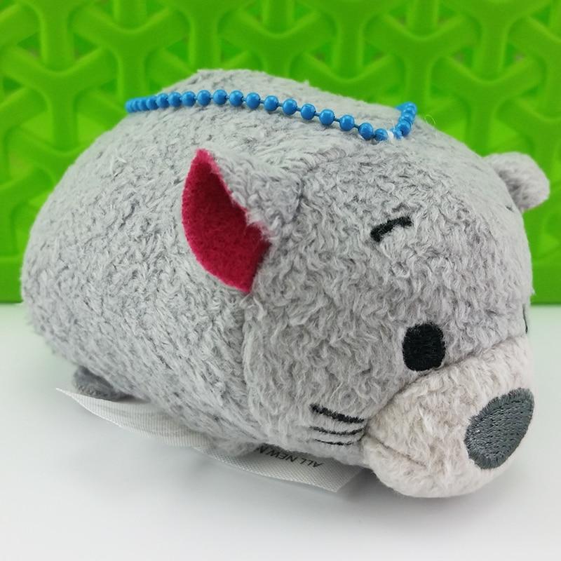 Kawaii juguetes de peluche muñeca limpiador de pantalla suave PP algodón animales de peluche muñeca niños y niñas regalo de Navidad lindo llavero de felpa