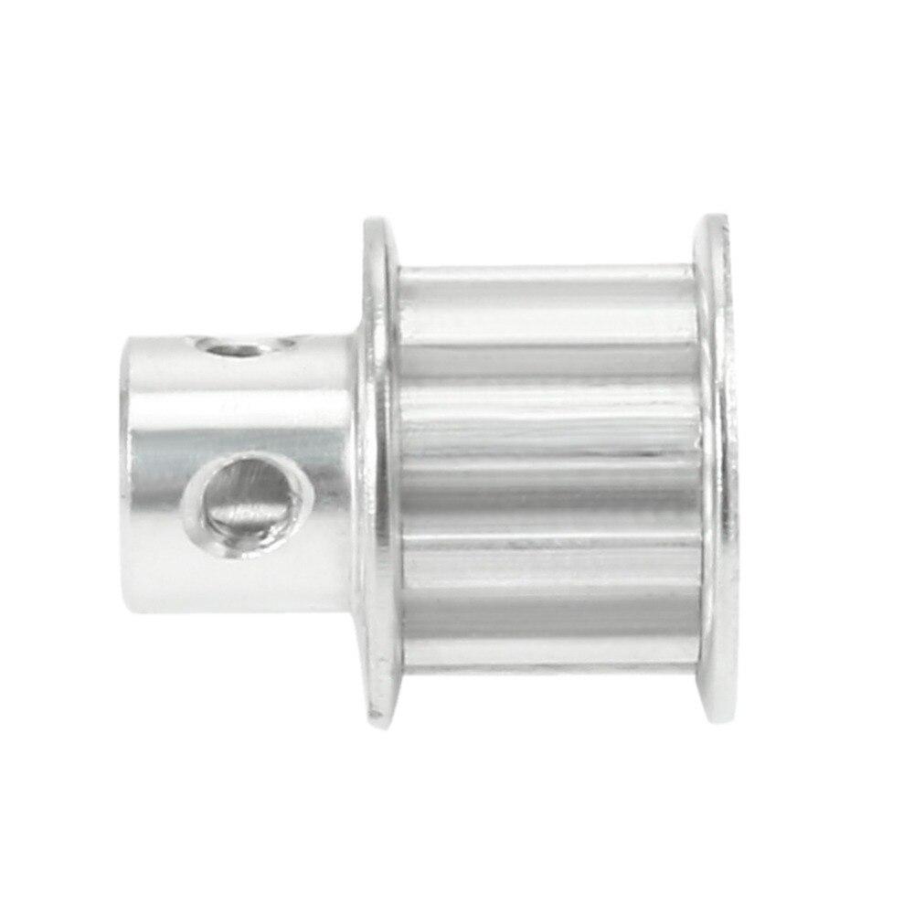 Aluminum XL 10 Teeth 6mm Bore Timing Belt Idler Pulley Flange Synchronous Wheel for 3D Printer CNC 10mm Belt Power Transmission