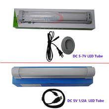 Camping SMD 5730 LED Tube ,DC5V 1/2A  Multi-function Wireless Daylight lamp, AC 100-240V to DC 5-7V Rechargeable Emergency Light