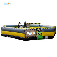 Commericial PVC Material Inflatable Wipeout Eliminator Mechanical Game Sports Game
