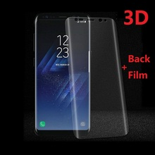3D Curved Screen Protector for Samsung Galaxy S8 S9 Plus Note 9 8 S10 S10e S6 S7 Edge Protective Film Foil