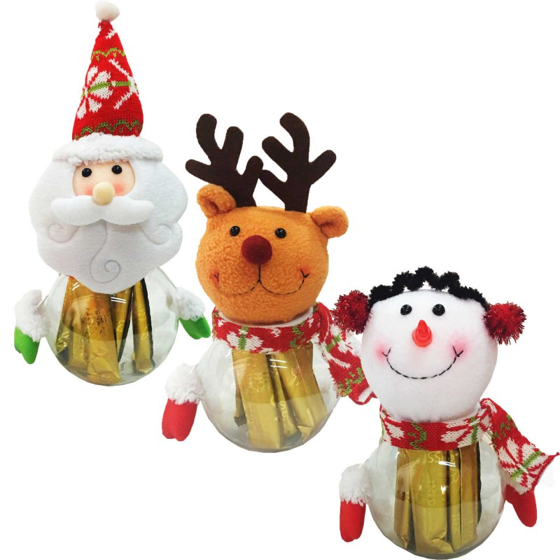 Gifts For Leisure Party Children Christmas Candy Cans