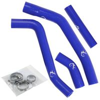 Motorbike Engine Tube For YAMAHA YZ450F YZF450 YZF450F Silicone Blue Radiator Hose Kit 2010 2011
