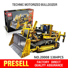 LEPIN 20008 technic series remote contro lthe bulldozer Model Assembling Building block Bricks kits Compatible with legeod 42030