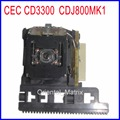 Original CEC CD3300 Optical Pick-up Replacement CDJ 800 MK1 Laser Lens Lasereinheit CDJ800 MK1 For Pioneer CDJ-800 Optical
