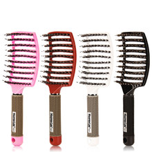 Hair Brush Detangle Lice Professional Hairdressing Supplies Tangle Brushe For Comb Boar Bristle Tools