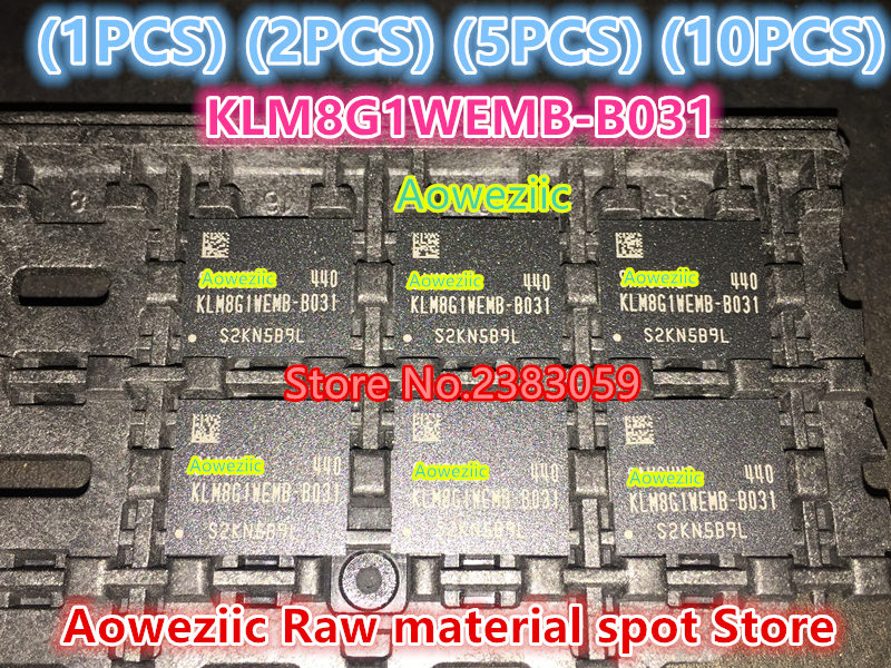 (1PCS) (2PCS) (5PCS) (10PCS)   100%  new original  KLM8G1WEMB-B031  BGA  Memory chip   EMMC 8GB   KLM8G1WEMB B031 1pcs 2pcs 5pcs 10pcs 100% new original klmdgageac b001 bga 128gb emmc tablet or mobile storage chip klmdgageac b001