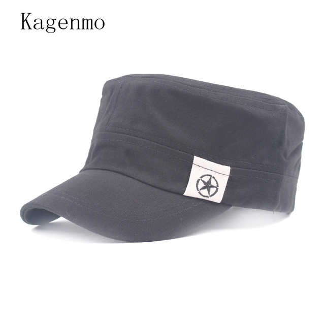 2b08f31ac1c Kagenmo China Five-Pointed Star Military Hats China Map Army Hat Fashion  Unisex Cap Men Women Autumn Adjustable Visor