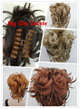 16 Colors Synthetic DIY Hair Red Blonde Brown Black  Braid Drawstring Ponytail Pony tail Clip in/on Hair Extensions Hairpieces