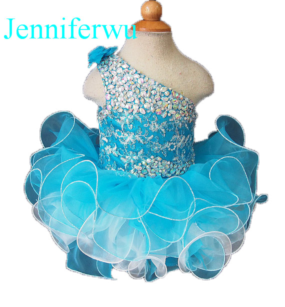 цена stone beaded  infant and toddler girl formal dress 1T-6T G095 онлайн в 2017 году