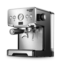 Stainless Steel Coffee Maker Machine Italian Semi-automatic Household Milk Espresso Commercial CRM3605