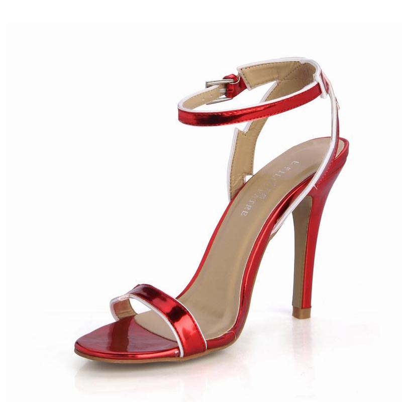 Women Sexy High Heels Sandals Buckle Woman Ladies Party Valentine Dress Wedding Shoes Zapatos Mujer Tenis Feminino Plus Size 43 plus size sexy high heels women pumps pointed toe woman ladies party valentine dress wedding shoes tenis feminino zapatos mujer