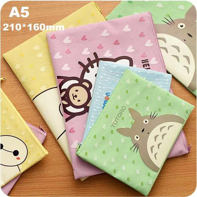 A5 210*160mm/ New Sweet Cartoon series File bag / pencil bags /clean up bag / school office supplies/retail