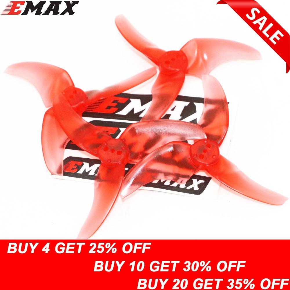 4pcs EMAX AVAN Blur 2 Inch / 2.5 Inch Prop 10CW+10CCW Propellers For Emax Babyhawk R RACE(R) (2 Pair)