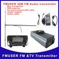 Czh FU-30E 30 Вт жк-fm-радио-передатчик с усилителем exicter DP100 1/2 волны антенны с адаптером питания комплект