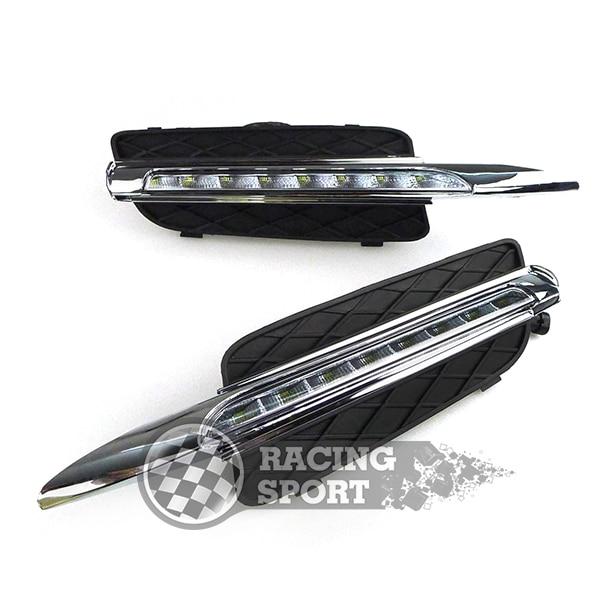 Daytime Running Light DRL  Fog Lamp For BMW X5 E70 2007-2010 New Arrival Car Headlight LED
