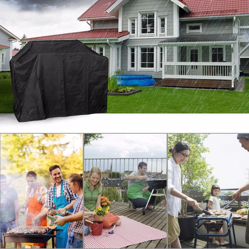 Waterproof BBQ Cover Outdoor Storage Rainproof for Gas Grill Large Anti-dust