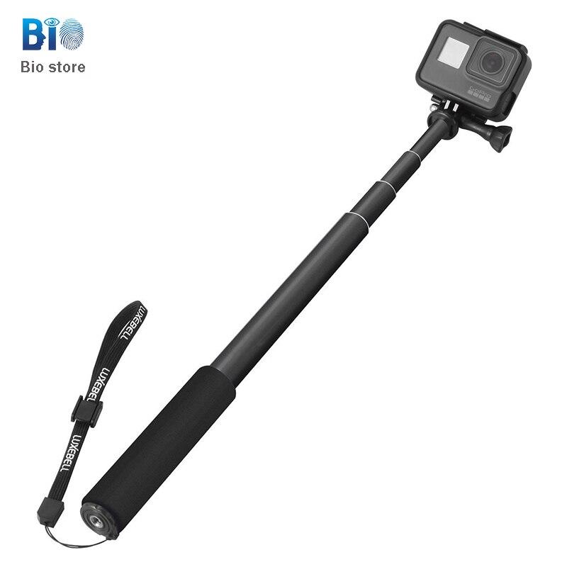 3 Aluminium Selbstauslöser Aufkleber Für Kamera Dv Gorpro 4 Sport Kamera Handheld Elastische Selfie Sticks 2019 New Fashion Style Online 2 biostore Selfie Sticks