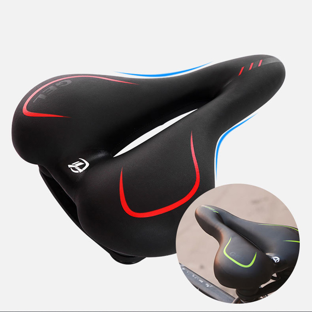 Soft Bicycle Seats Wide Bicycles Saddles Mountain Road Bike Bicycle Accessories