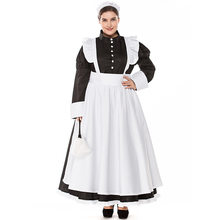 Umorden Deluxe Victorian Maid Costume Colonial Women Dress Apron Plus Size  XXXL Halloween Classic Costumes Cosplay 52fc0cc6e56d
