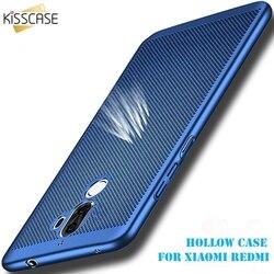 KISSCASE respirer dur mat étui de téléphone pour Xiaomi Redmi 4x Note 4 étuis creux pour Redmi Note 4x Xiaomi 5 s 5 5C housse Capa Funda
