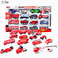 16pcs a set 1:64 Colored Kinds Diecast Mini Alloy Educational Small Car Toy Model For Children Kids