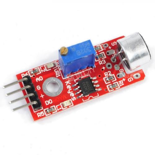 1PCS Microphone Sensor AVR PIC High Sensitivity Sound Detection Module For Arduino keyes microphone sound detection sensor module for arduino works with official arduino boards
