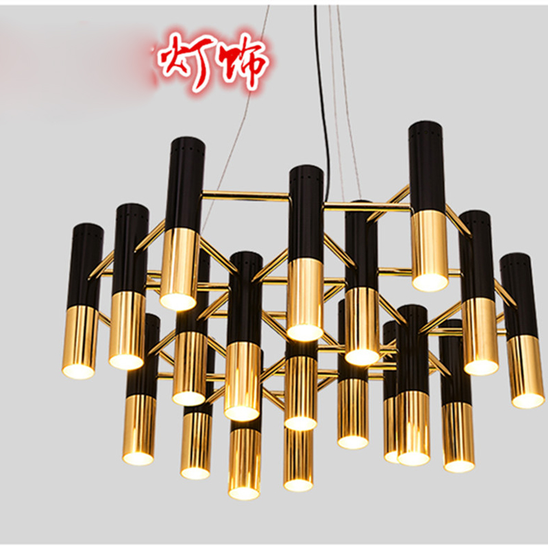 Nordic post-modern bar cafe office villa living room bedroom shop art chandelier creative lighting fixture led lamps for bedroom 6 e27 heads nordic post modern designer originality personality art living bed room cafe fashion led chandelier home decor light