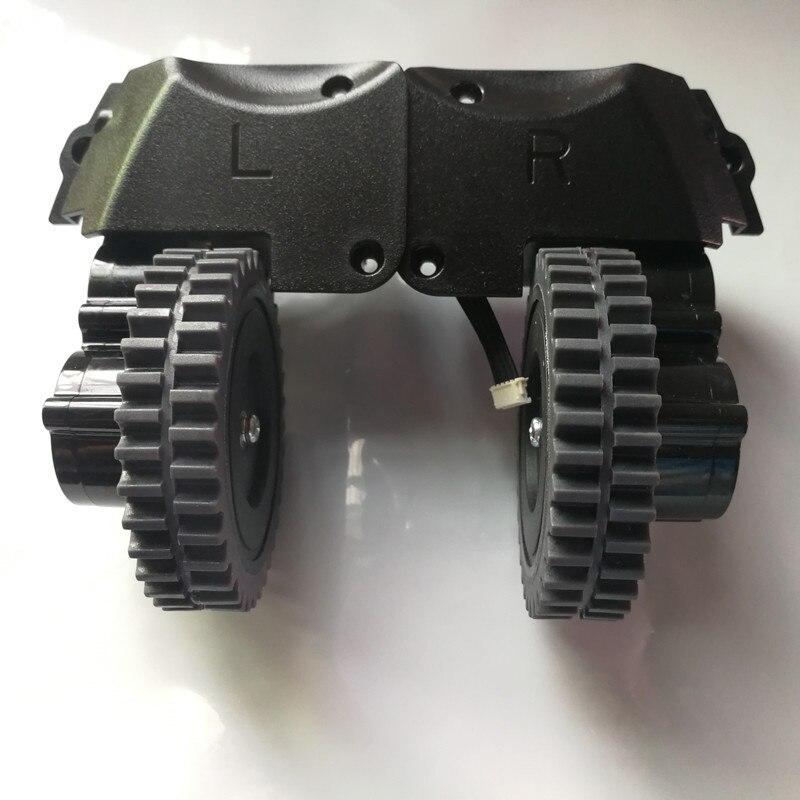 Original Left + Right wheel for robot vacuum cleaner ilife a4 a4s robot Vacuum Cleaner Parts ilife a4 replacement ilife original adaptor v5 robot vacuum cleaner parts