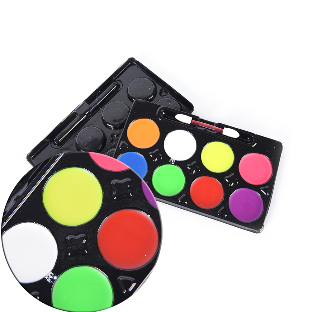 5 6 8 colors body makeup non toxic water paint oil body face