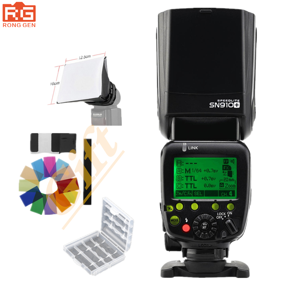 Shanny SN910 Master Flash i TTL High Speed Sync 1 8000s GN60 Flashgun Speedlite for Nikon