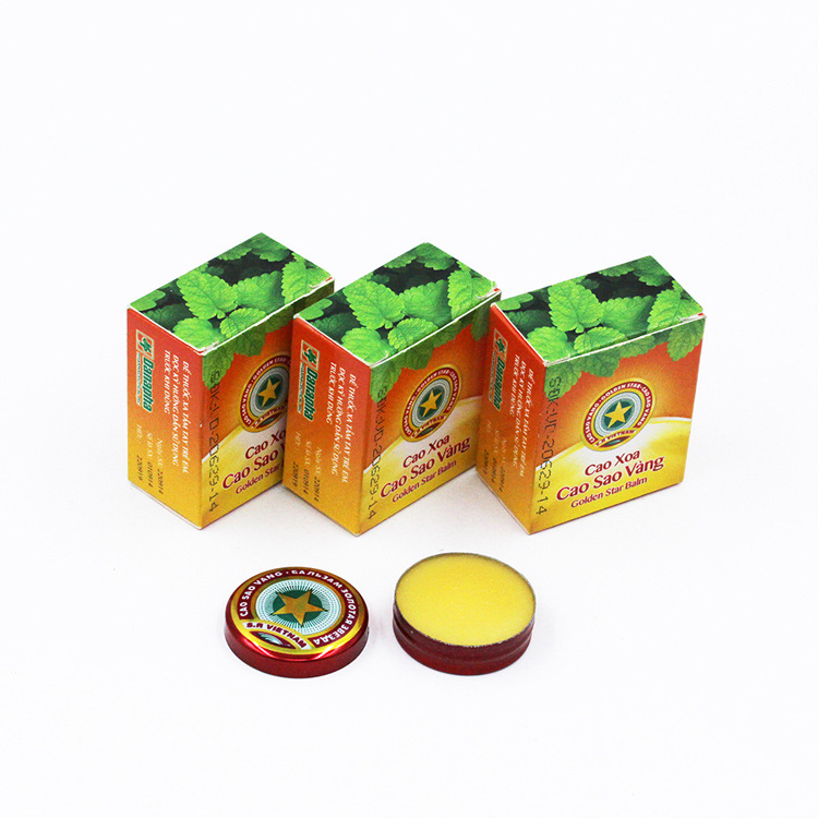 8PCS New Vietnam Gold Tower Tiger Balm Ointment For Cold Headache Stomachache Dizziness Heat Stroke Insect Stings Essential Balm