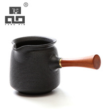 TANGPIN black ceramic tea infusers tea pitcher chinese kung fu tea accessories