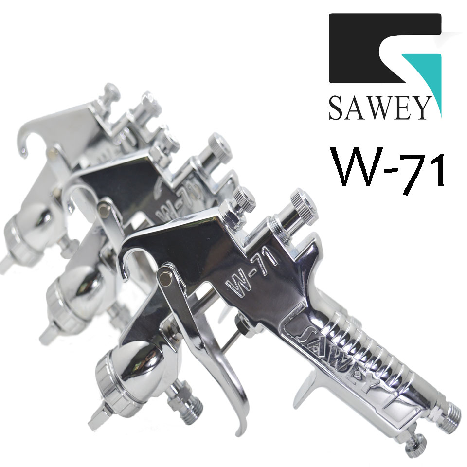 W-71 SAWEY small hand manual air paint spray gun gravity/suction/pressure type, good as Japan Brand, FREE SHIPPING by DHL free shipping iwata tof 50 062p special purpose small sized spray gun mold release agent gun