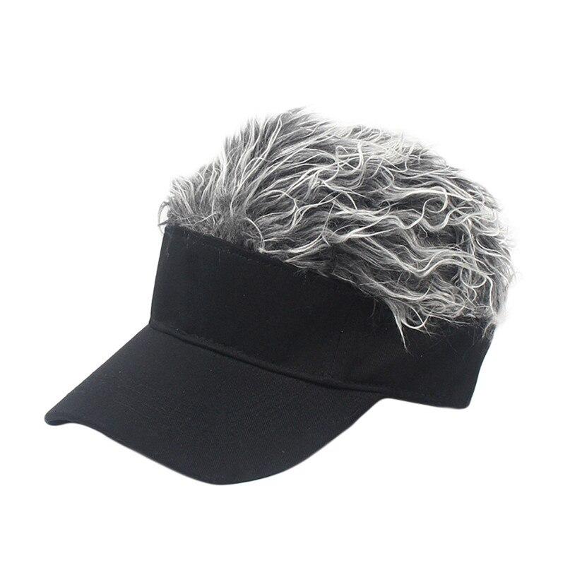 Wig Tennis Cap Parent-child Hat Street Trend Cap Outdoor Shade Wig baseball cap parent-child hat street trend cap #2f20 (8)