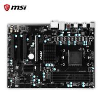 MSI 970A-G43 PLUS Original Used Desktop Motherboard 970 Socket AM3 DDR3 32G STAT3 USB3.0 ATX