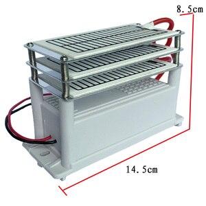 Image 4 - 18 г генератор озона 220 в очиститель воздуха озонатор стерилизатор электрод из нержавеющей стали влагостойкий долгий срок службы озона