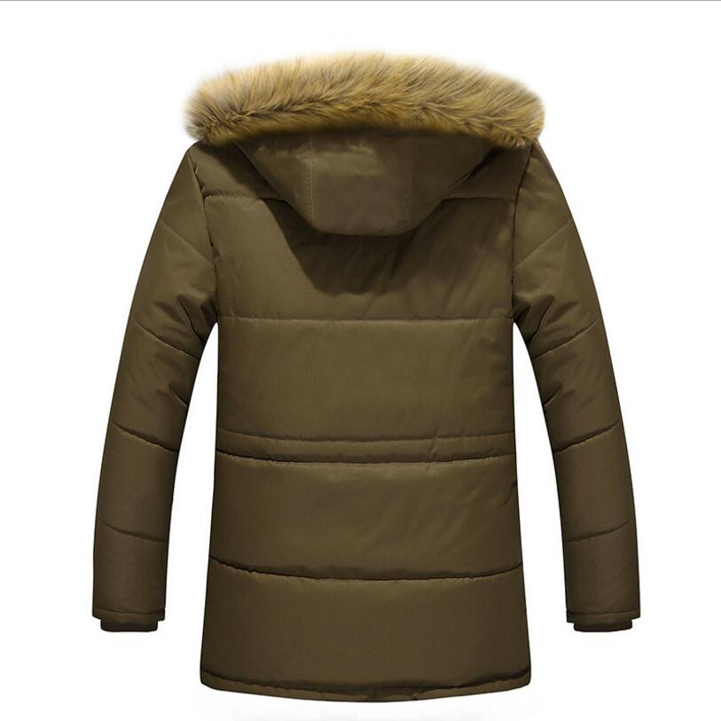 409563482d1 New Brand Clothing Winter Jacket Men Fashion Winter Parka Mens With Fur  Hood Casual Warm Men s Coats Thick Long Parkas Homme 5XL-in Parkas from  Men s ...