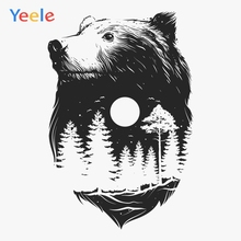 Yeele Photocall Forest King Wolf Retro Room Painting hotography Backdrops Personalized Photographic Backgrounds For Photo Studio